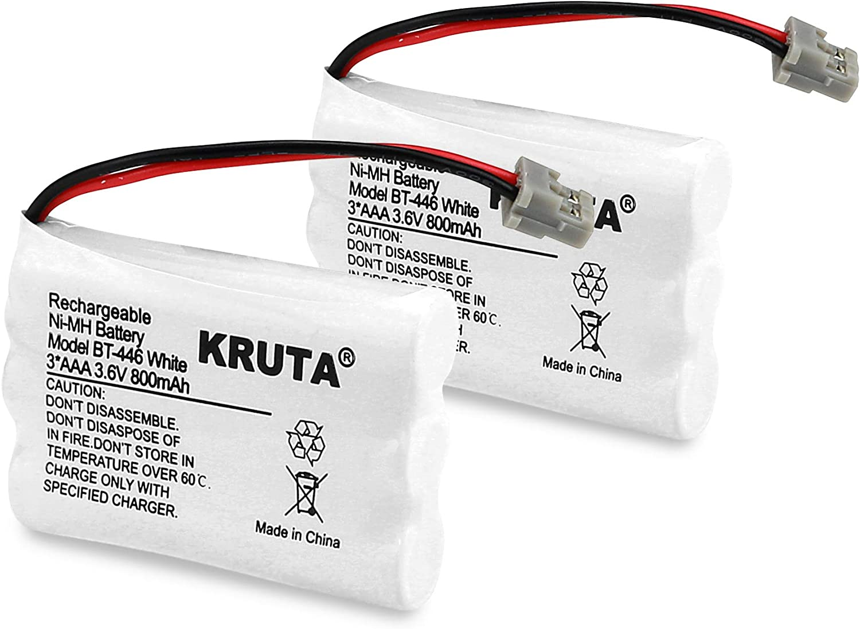 2 baterias BT-446 para Uniden BT-1005 BT1005, TRU9460, TRU94