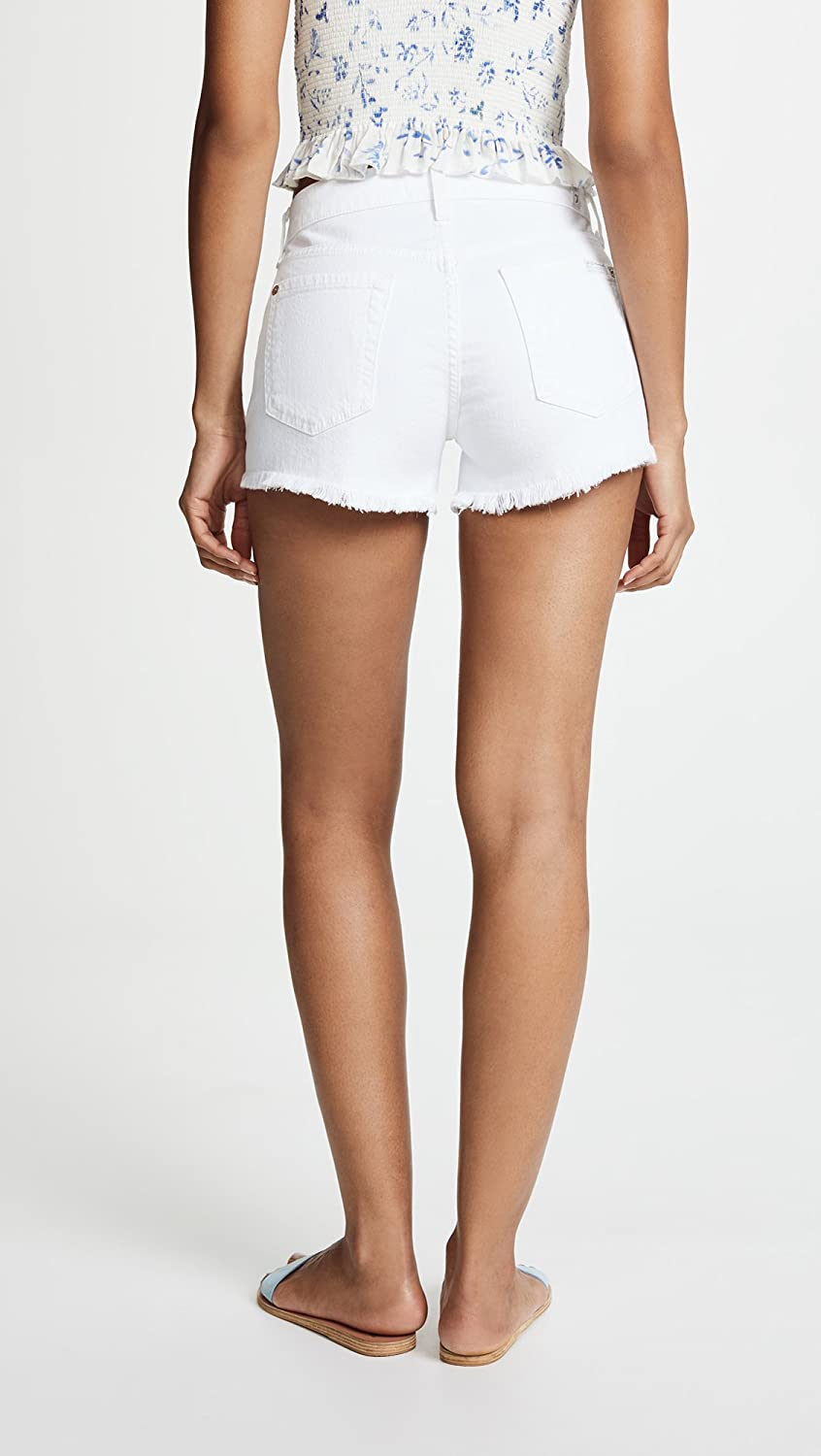 7 For All Mankind Womens Cut Off Short