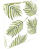 """bloom daily planners Binder (+) 3 Ring Binder (+) 1 Inch Ring (+) 10"""" x 11.5"""" - Palm Leaves"""