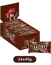 M&M's Choco confetti colorati cioccolato al latte, 24 bustine x45g (1800g)