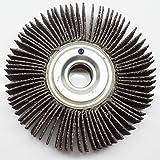 "Benchmark Abrasives Center Hole Flap Wheel 4"" x"