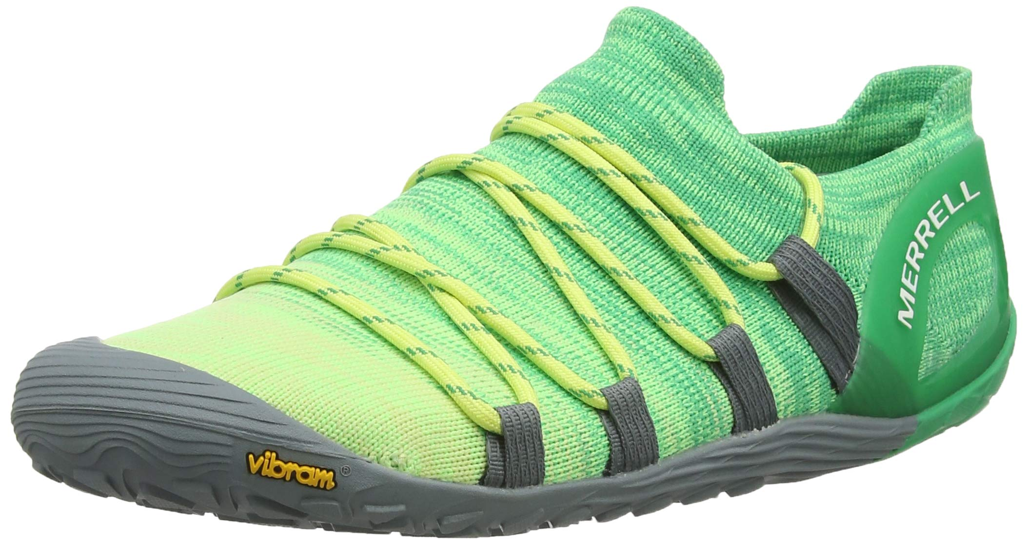 Merrell Women's Vapor Glove 4 3D Sunny Lime/Beetle 7.5 M US by Merrell