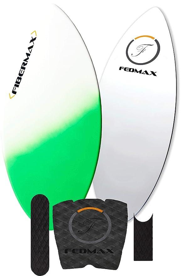 Best Skimboards : FedmaxSkimboard with Fiberglass Body & Carbon Fiber Tip Hybrid