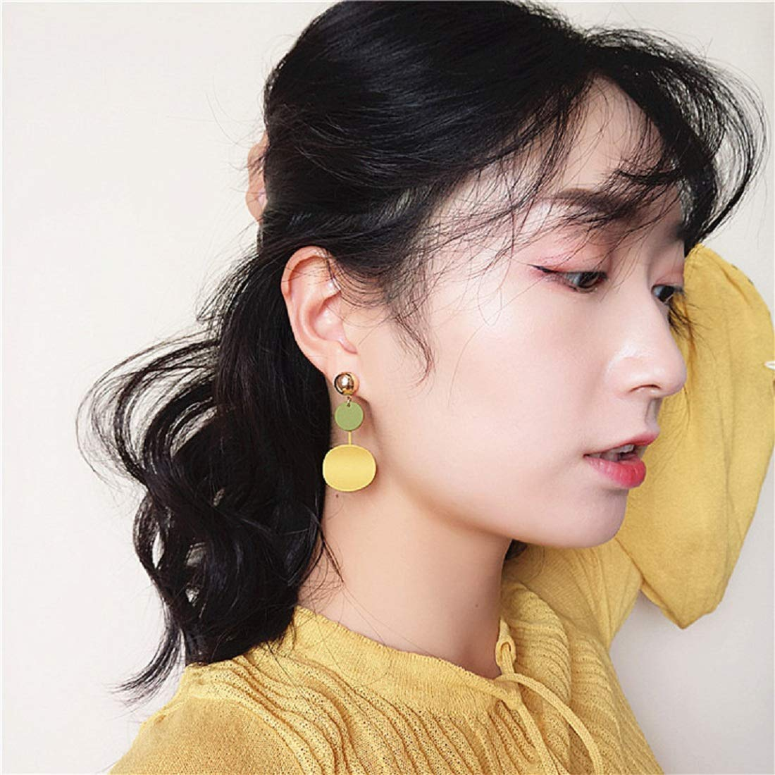 JXVLUYE Colors Earring for Women Girls Great Gifts for Women Girls Fashion Simple Style Earring