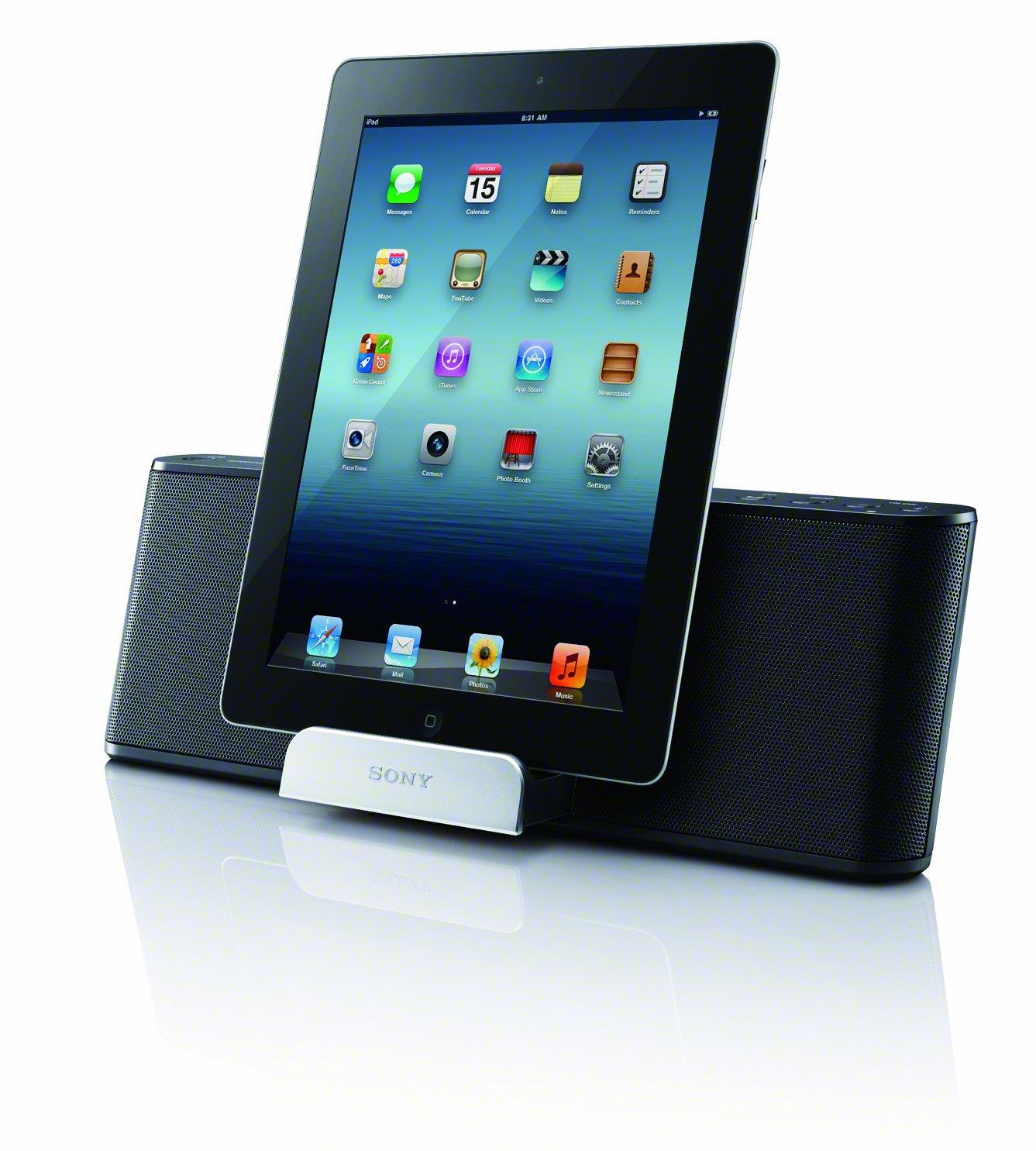 Sony RDPT50IPN Lightning iPad/iPhone/iPod Portable Speaker Dock by Sony