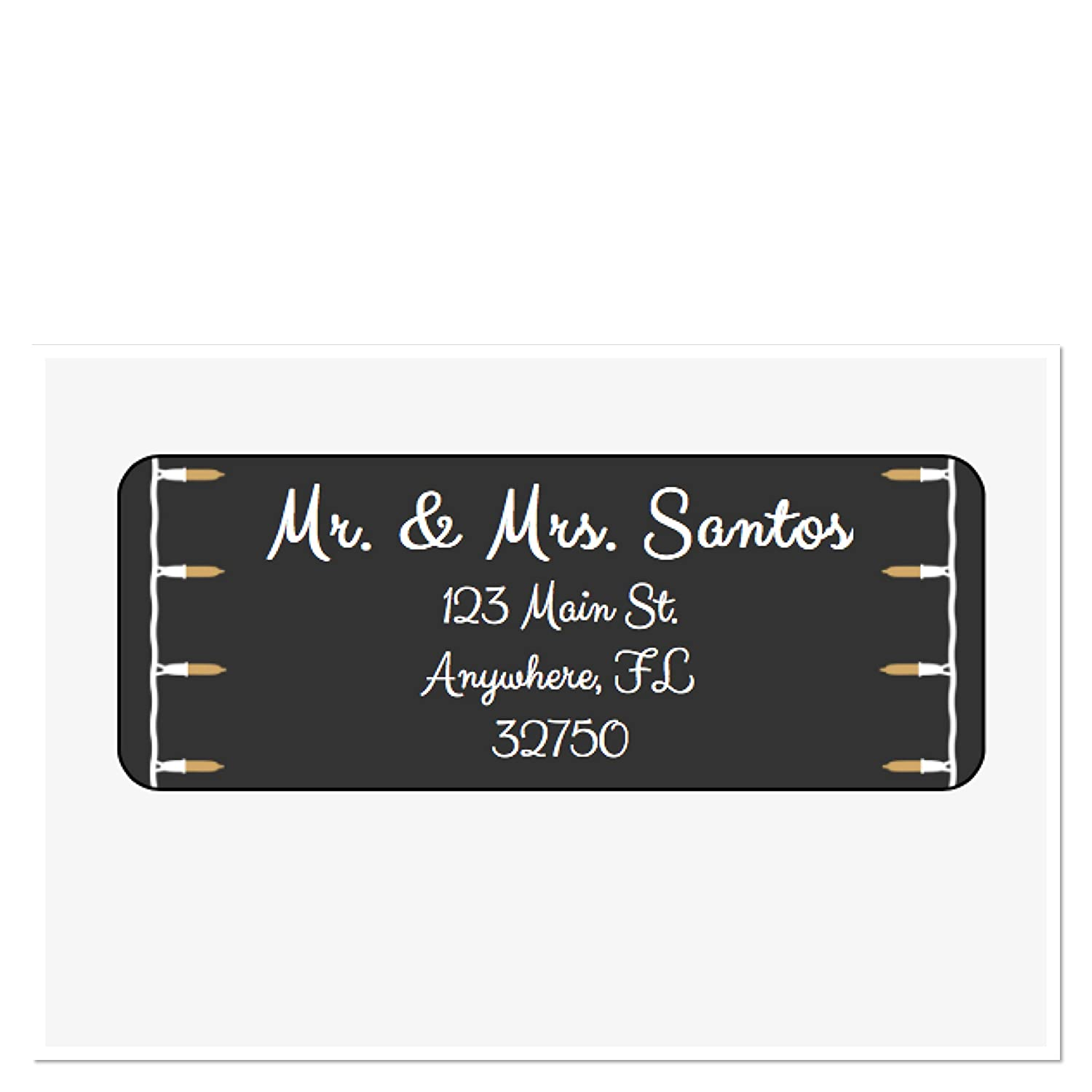 Amazon com personalized address labels string light set of 30