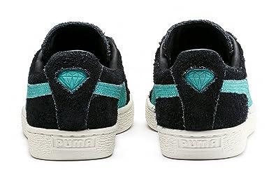 Puma Suede Diamond Chaussures BlackBlue: