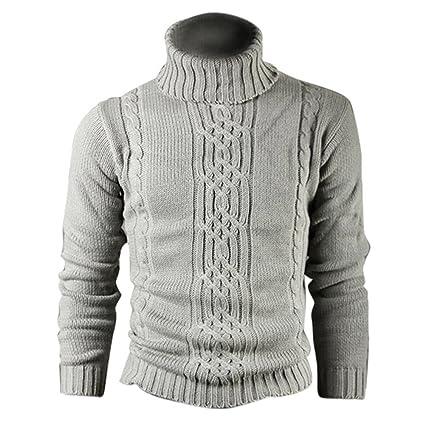 timeless design ed7b3 5b268 SODIAL (R) Moda Stampa grigio chiaro maglione di lana vera ...