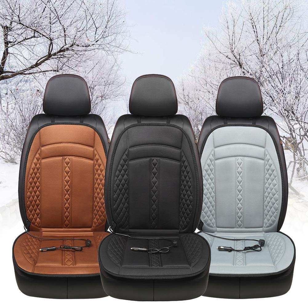 Heated Seat Cushion 12V Heated Car Seat Cushion Warmer Car Seat Heater Car Heating Pad Seat Warmer