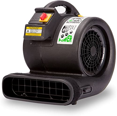 B-Air-Grizzly-GP-1-1-HP-3550-CFM-Air-Grizzly-Mover-Carpet-Dryer-Floor-Fan