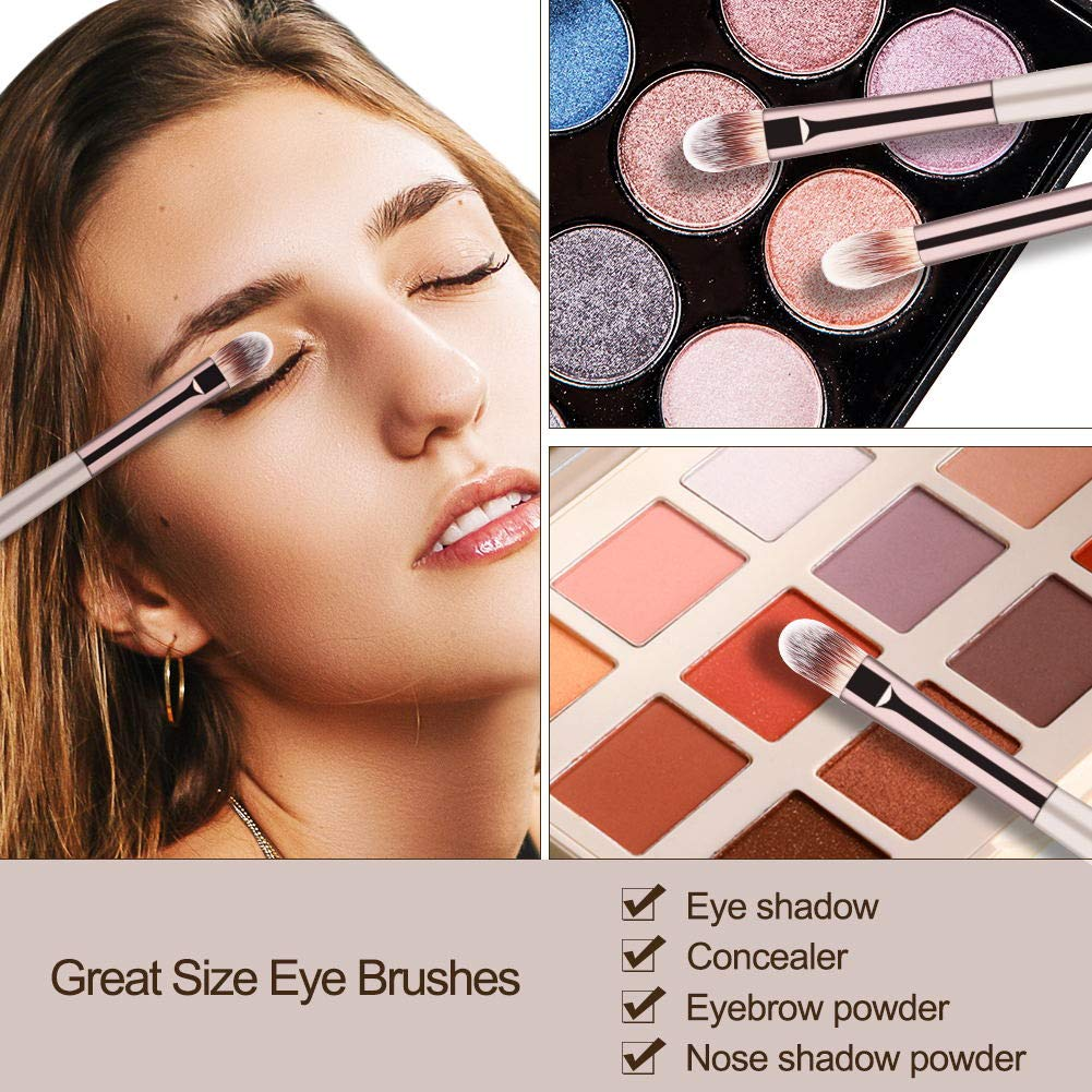 BS-MALL Makeup Brush Set 18 Pcs Premium Synthetic ...