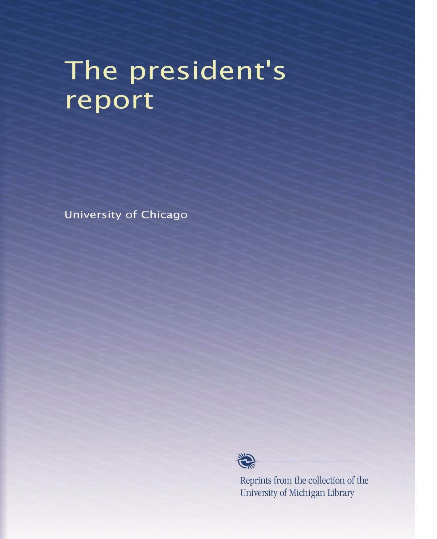 The president's report (Volume 5) PDF
