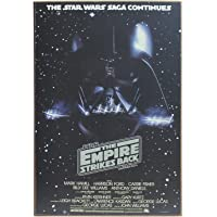 Disney Silver Buffalo SW5536 Star Wars Episodio 5 Darth Vader Arte de Pared de Madera, 13 x 19 Pulgadas