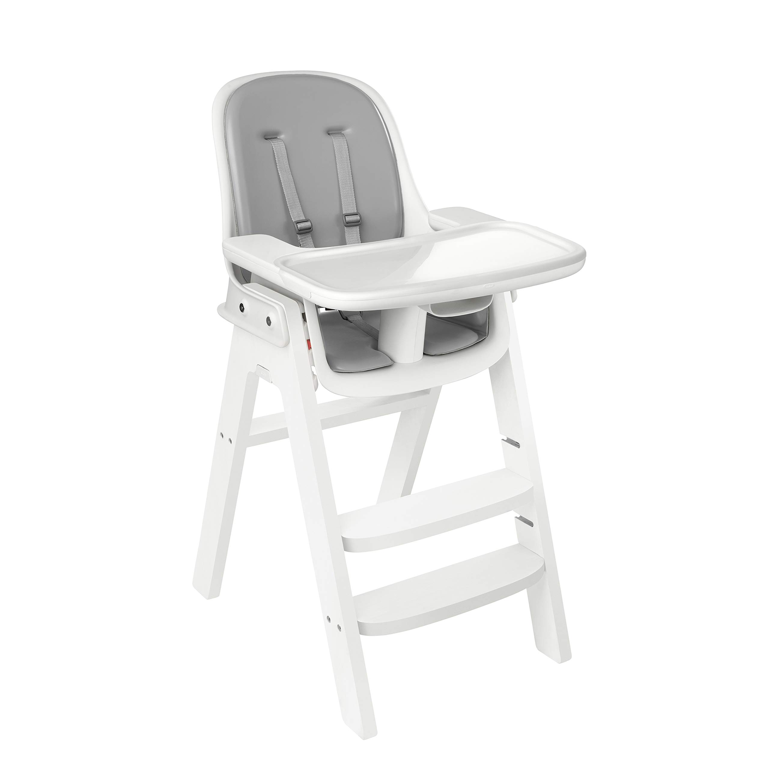 OXO Tot Sprout Chair with Tray Cover, Gray and White by OXO Tot