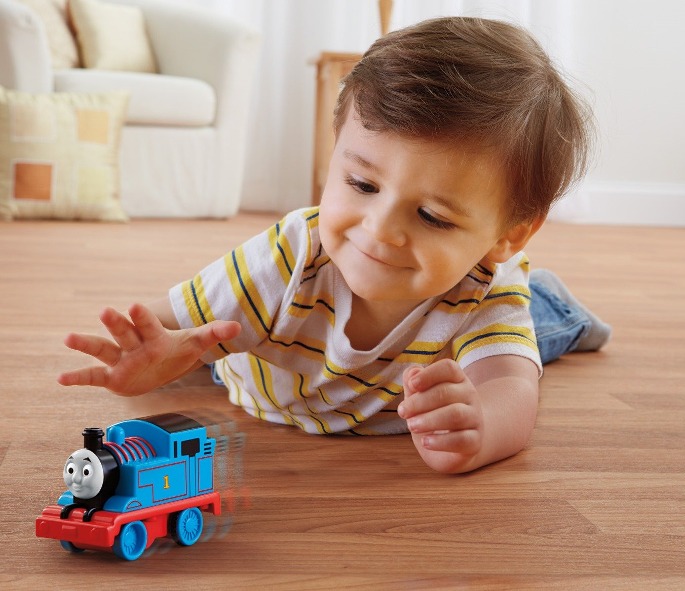 Amazon.com: Thomas & Friends Fisher-Price My First, Pull \'n Spin ...