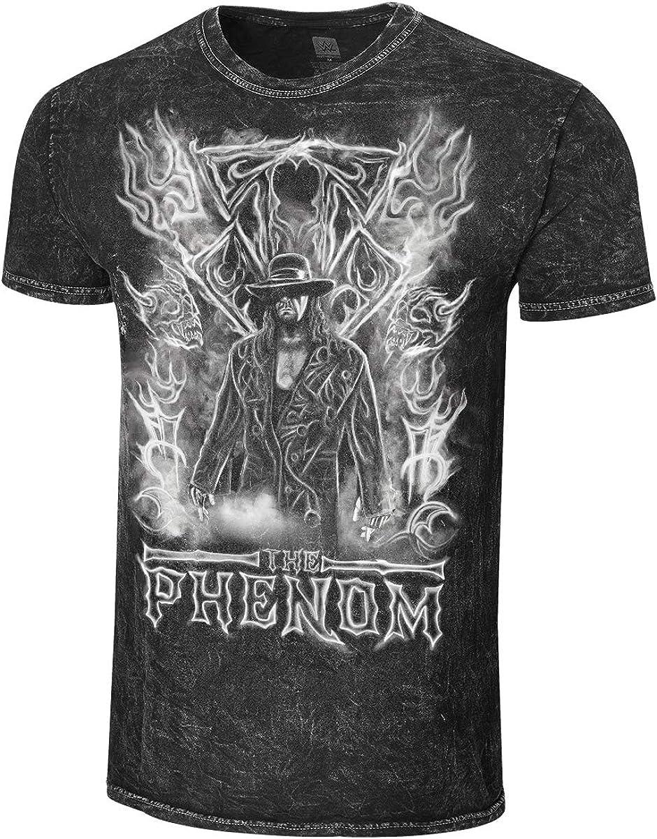 WWE Undertaker The Phenom Mineral Wash Camiseta