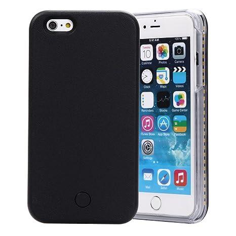 d436c1bdad Polly iPhoneケース 自撮り ライト アイフラッシュ セルフィー iPhone6 Plus/6s Plus スマホケース アイフォン