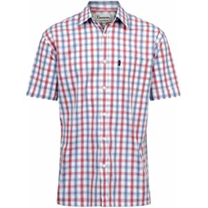 Fenside Country Clothing - Camisa Casual - para Hombre Azul Azul XX-Large   Amazon.es  Ropa y accesorios 199b9af01d0