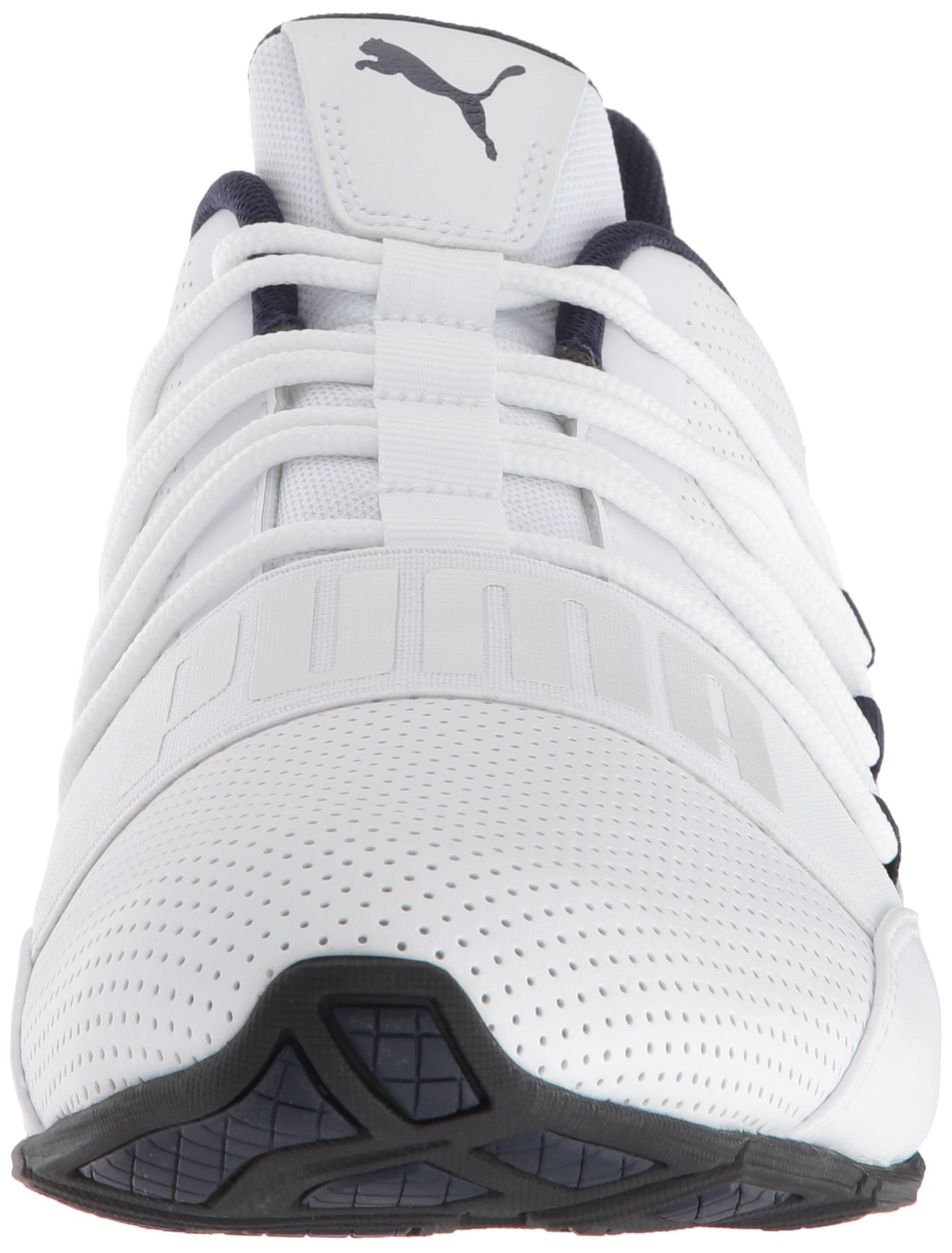 PUMA Men's Cell Regulate SL Sneaker, White Black-Peacoat Silver, 7 M US by PUMA (Image #4)