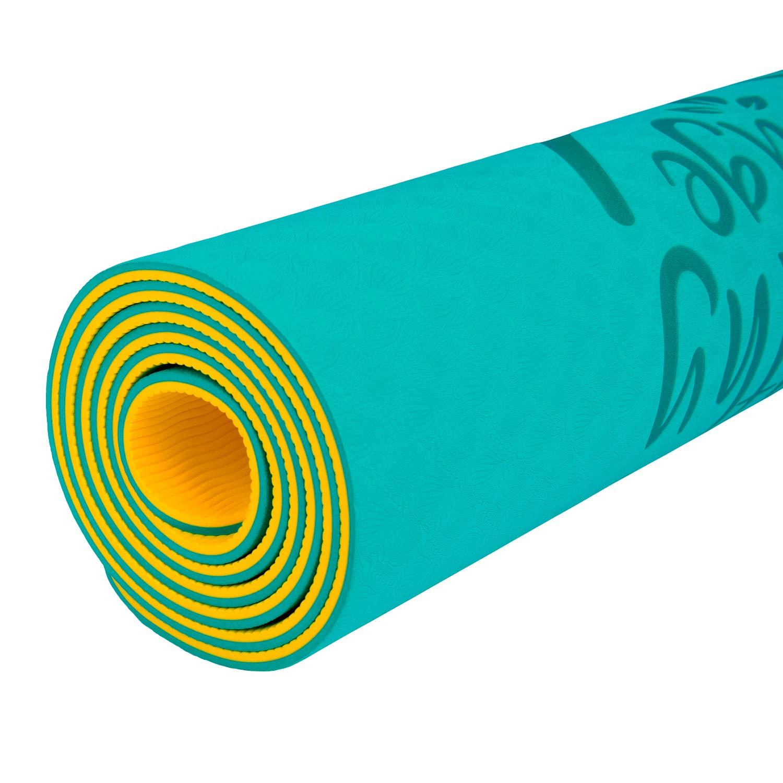 f6082fe03da Yoga MAT Multiusos. Esterilla yoga y pilates antideslizante. Colchoneta  para ejercicios fitness