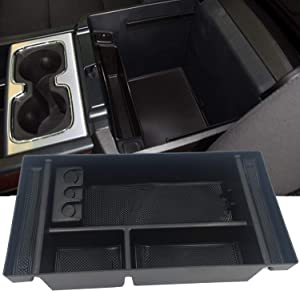 JOJOMARK for 2019 GMC Sierra 1500 Accessories ChevySilverado 1500 Center Console Organizer Tray, Also for 2020 Chevy Silverado/GMC Sierra 1500/2500 HD/3500 HD -Full Center Console Models Only