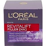 L'Oréal Paris Revitalift Filler Crema Viso Anti-Rughe Rivolumizzante, 50 ml