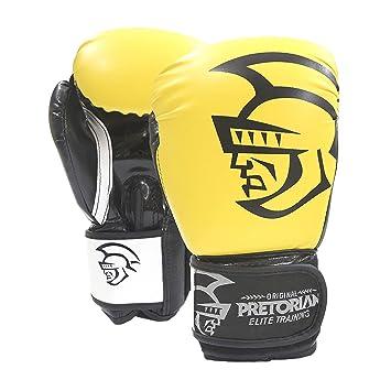 fd79d53db Luva de Boxe Pretorian Elite Amarelo  Amazon.com.br  Esportes e Aventura