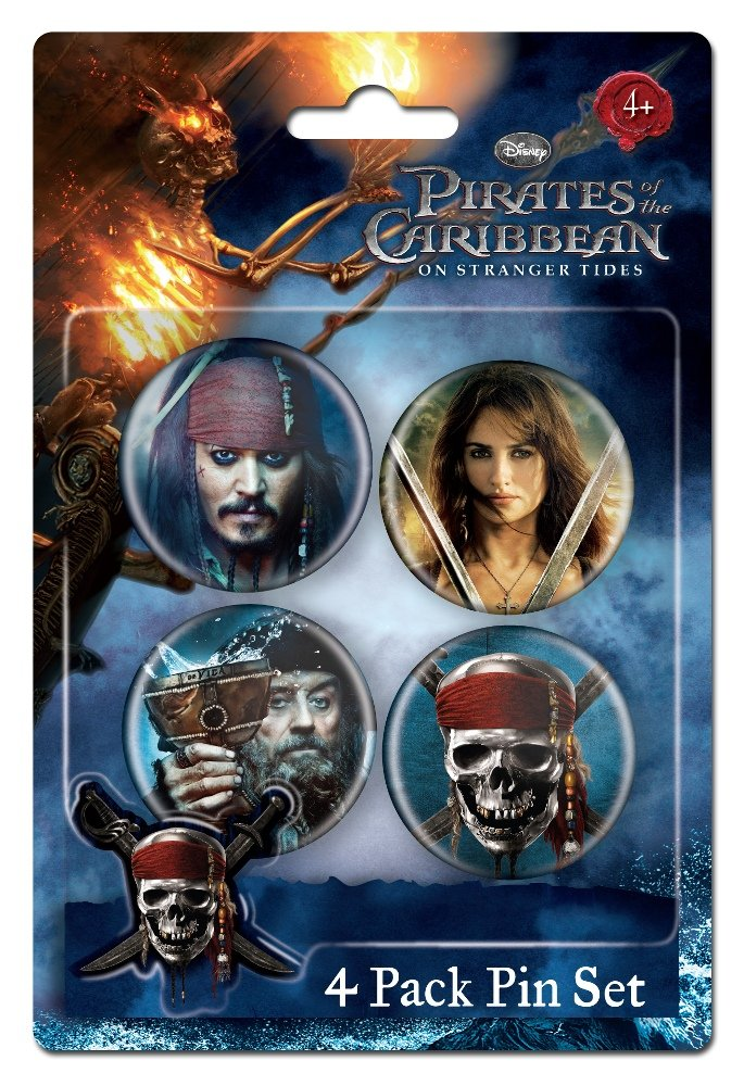 Pins Set - Pirates Of The Caribbean - Gifts Toys 21702 B00B56169C