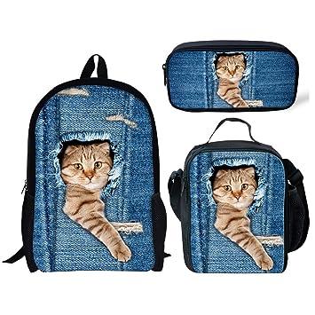 Amazon.com: HUGS IDEA - Bolsas de almuerzo con aislamiento ...