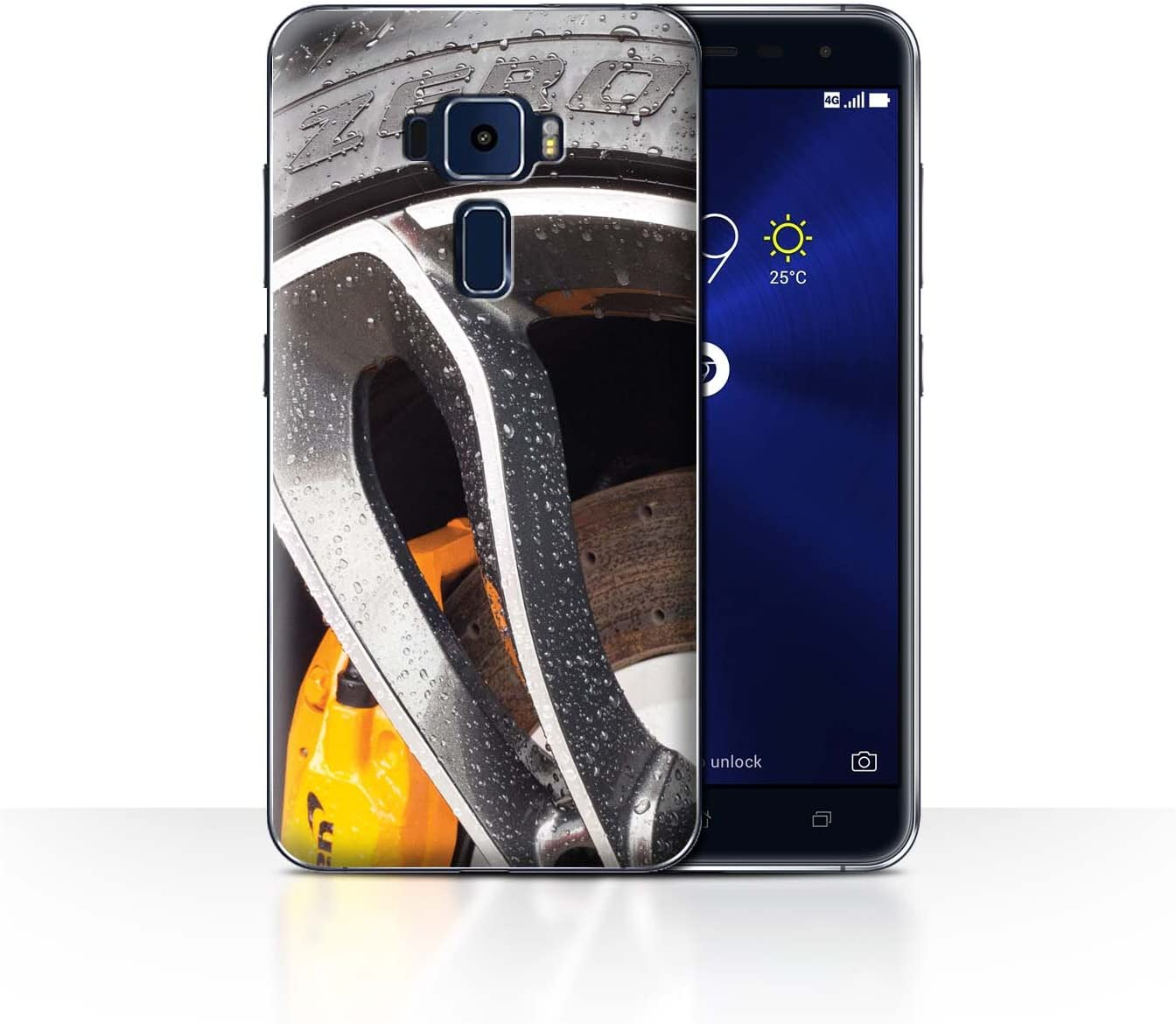 STUFF4 Phone Case/Cover/Skin/ASUS-CC/Alloy Wheels Collection ...