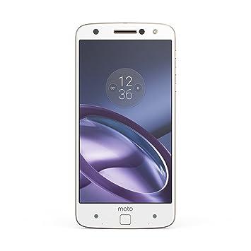 moto z phone white. Lenovo Moto Z UK SIM-Free Smartphone - White/Gold Phone White V
