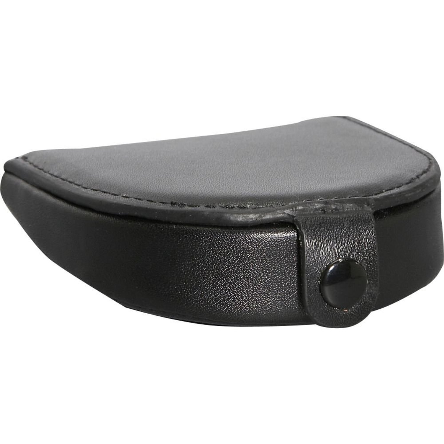 Royce Leather Coin Holder - Black