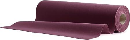 Airlaid Camino de mesa, mesa de banda púrpura ciruela, 24 m rollo ...
