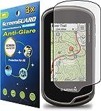 3x Garmin Oregon 600 600t 650 650t GPS Premium Anti-Glare Anti-Fingerprint Matte Finishing LCD Screen Protector Cover Guard Shield Protective Film Kits (Package by GUARMOR)