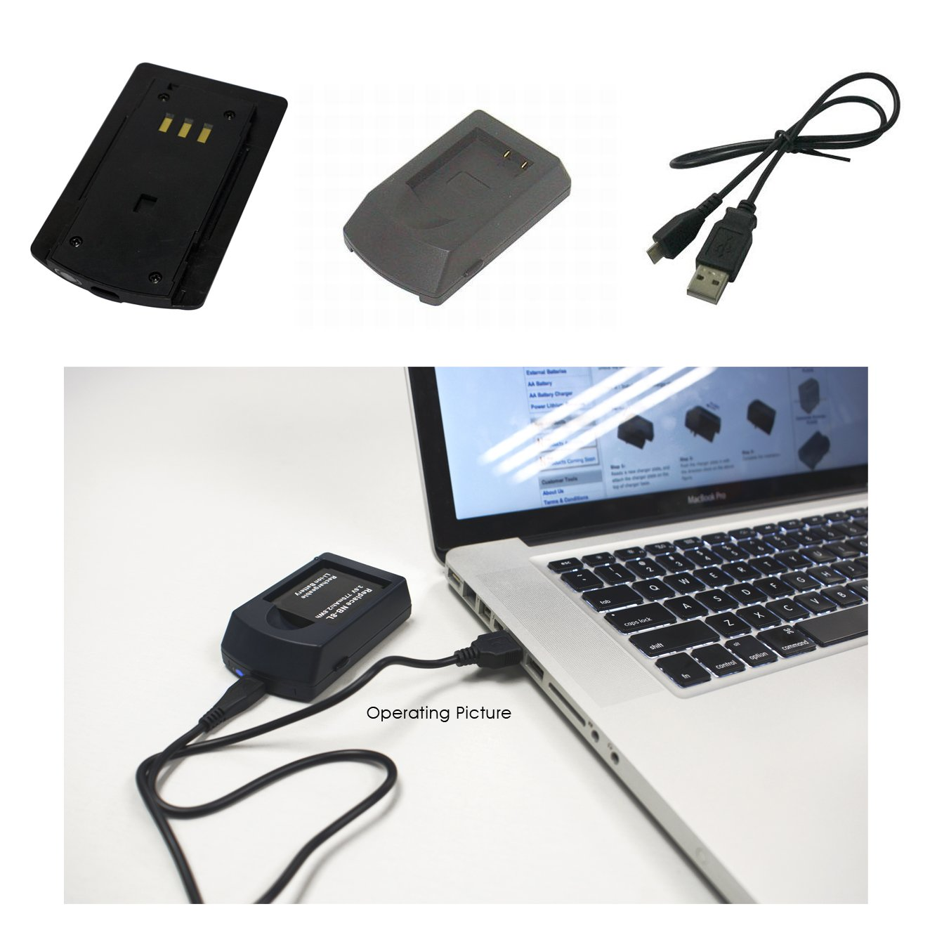 PowerSmart - Cargador para Fujifilm FinePix F440 Zoom, F440 ...