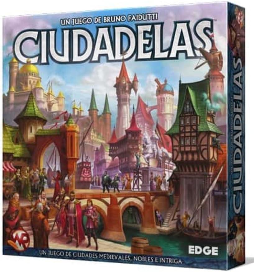 Edge Entertainment - Ciudadelas, Juego de mesa (EEWRCI01): Amazon ...