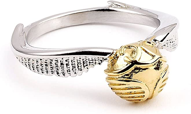 Bague Golden Snitch The Carat Shop Harry Potter