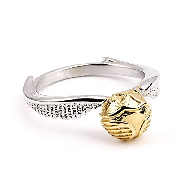 a5ca824b56233 HARRY POTTER Golden Snitch Stainless Steel Ring - Large -Size P
