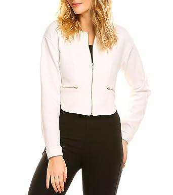 fdfb8793827 Zeagoo Women Long Sleeve Blazer Open Front Cardigan Jacket Work ...
