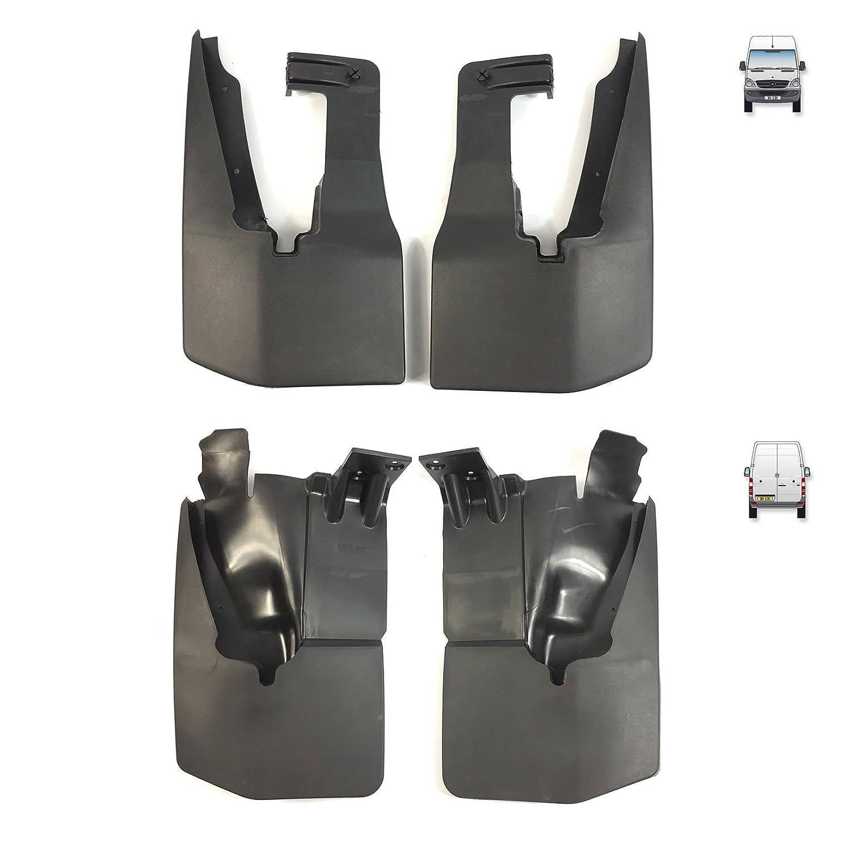 4 PCS FRONT /& REAR MUD FLAPS SPLASH GUARDS SET 9068820004 9068820204