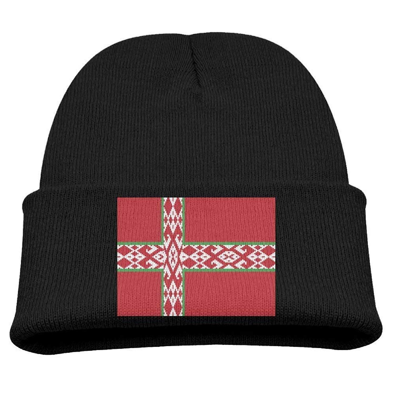 Amazon.com  DeReneletrc Kid s Flag of Nordic Belarus Hats Winter Funny Soft  Knit Unisex Beanie Cap  Clothing 978119082a8