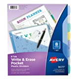 Avery Durable Write-On Plastic Dividers