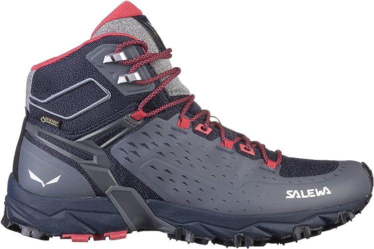 Salewa WS Alpenrose Ultra Mid Gore-tex Chaussures de Randonn/ée Hautes Femme