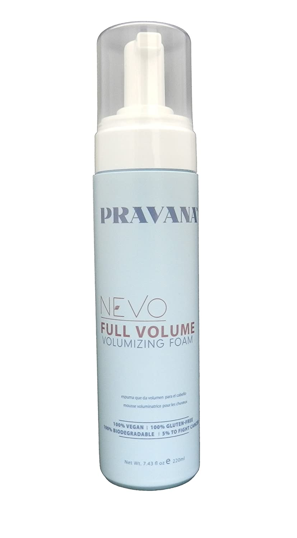 Pravana Nevo Full Volume Volumizing Foam 7.43 oz 7501438383909