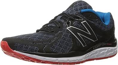 New Balance 720v3 Comfort Ride - Zapatillas de correr para hombre, Negro (Negro / Gris), 43 EU: Amazon.es: Zapatos y complementos