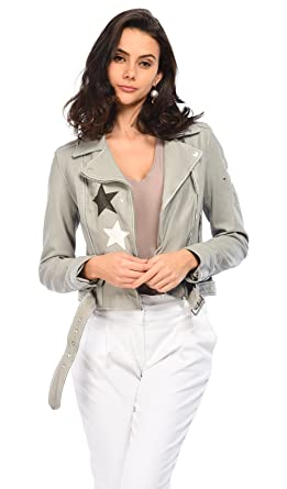 Star Star Veste Femmes Denim Oakwood Courtney Cuir Vêtements Vêtements Vêtements qUFxtZw