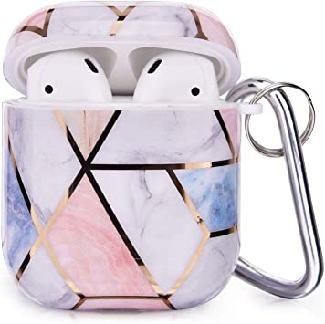 Amazon Com Cagos Compatible With Airpods Cases 3 In 1 Cute Rose