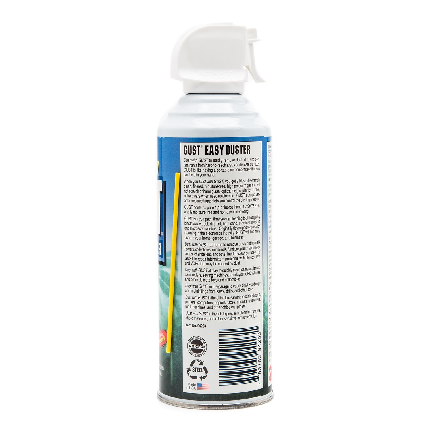 Stoner 94203 GUST Easy Air Duster - 12 oz. 3 Pack by Stoner (Image #2)