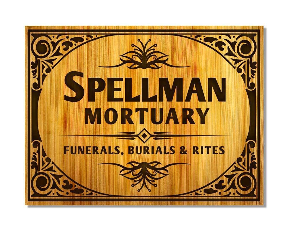 WallAdorn Spellman Funerales de Mortuario, Burials & Rites ...