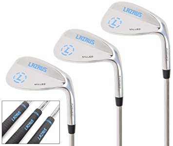 LAZR Golf forjado cuñas Set (52, 56, 60 grados): Amazon.es ...